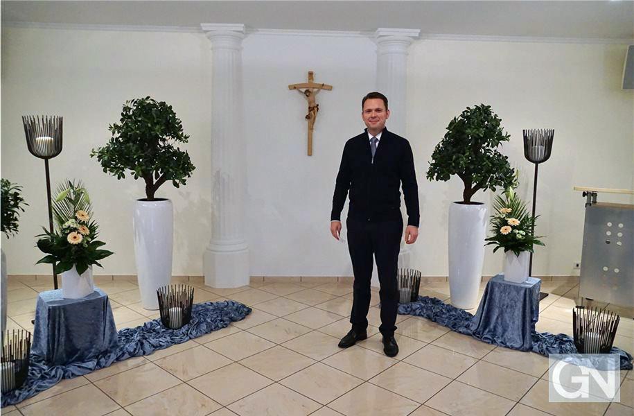 Bestattermeister Alexander Mikulla aus Nordhorn